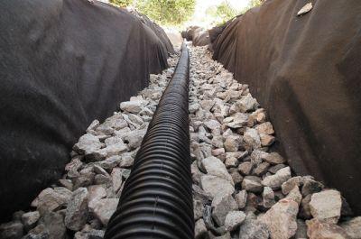 Дренажи за отводняване на основи - Изображение 1