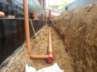 Дренажи за отводняване на основи - Изображение 2